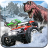Snow Off Road Dinoland Car Racing - Drag Racer
