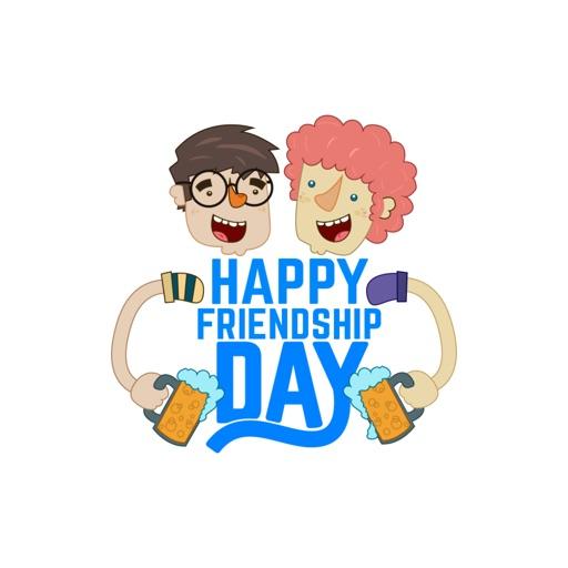 Стикеры День дружбы от NestedApps Stickers