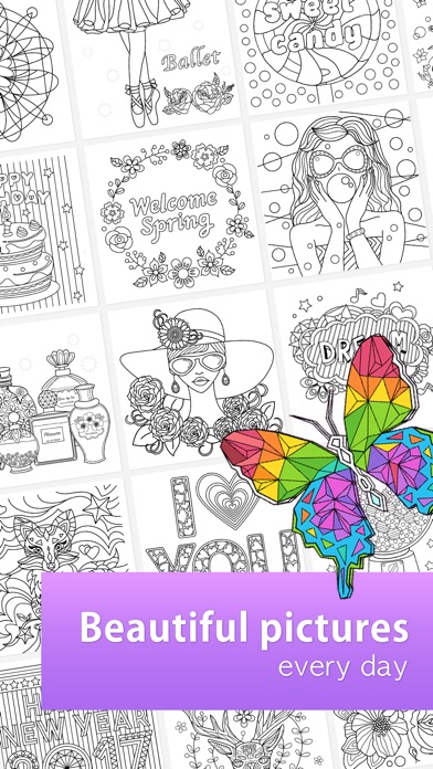 ColorFil Coloring Book On The App Store