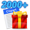 Clipart 2000+ 앱 아이콘 이미지