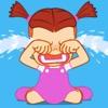 Kids: Little Girl 2 Stickers