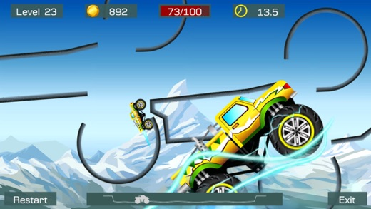 Monster Stunts: Extreme Stunt Truck Racing Screenshots