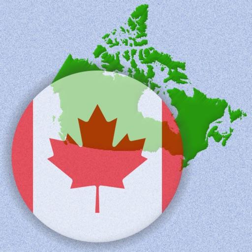 Kanadas Provinser Och Territorier Karta Quiz Av Andrey Solovyev