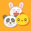 We are Animals Stickers – Chicken, Panda & Rabbit Wiki
