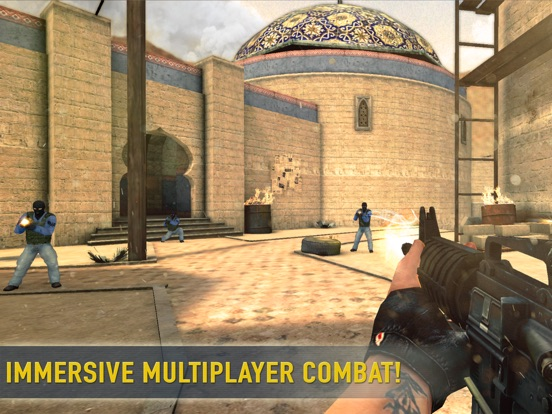 Counter Attack 3D - Multiplayer Shooter на iPad