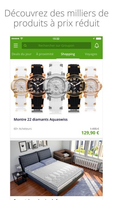 groupon dans l app store. Black Bedroom Furniture Sets. Home Design Ideas