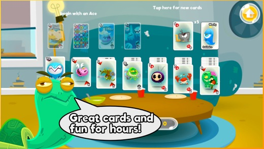 Wacky Toon Solitaire Screenshot