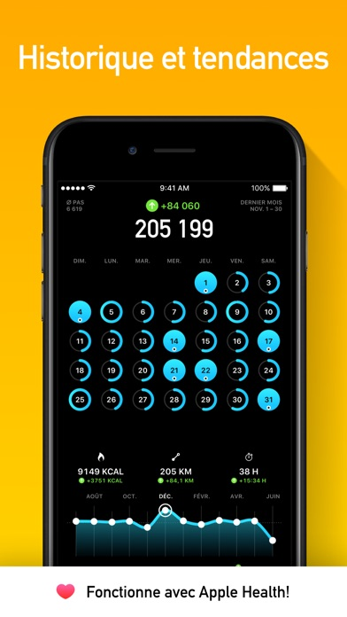 stepsapp podom tre 4 5 7 pour ios android windows phone. Black Bedroom Furniture Sets. Home Design Ideas