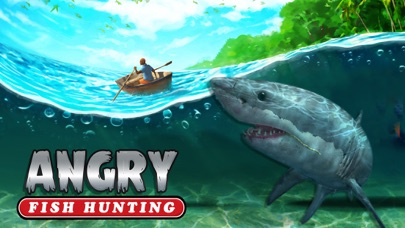 Angry fish hunting sea shark spear fishing game app for Hunting and fishing apps