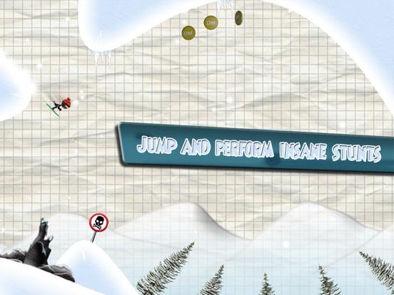 Screenshot #3 for Stickman Ski Racer