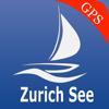 Zürichsee - Gewässer - Pfäffikersee GPS seekarte