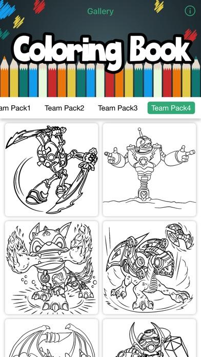 iphone screenshot 2 - Coloring Book Creator