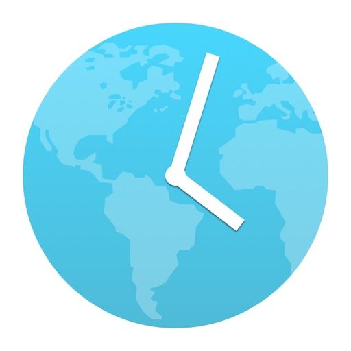 World Clock Time Widget - For Timezones