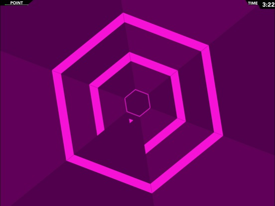 Screenshot #4 pour Infinite Hexagon - Super Geometry Mania!