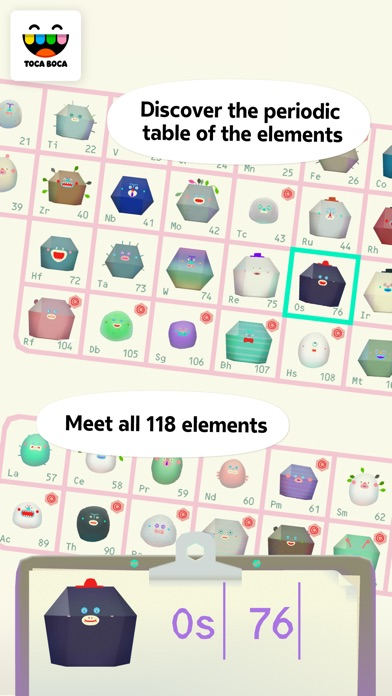 Toca Lab: Elements iPhone