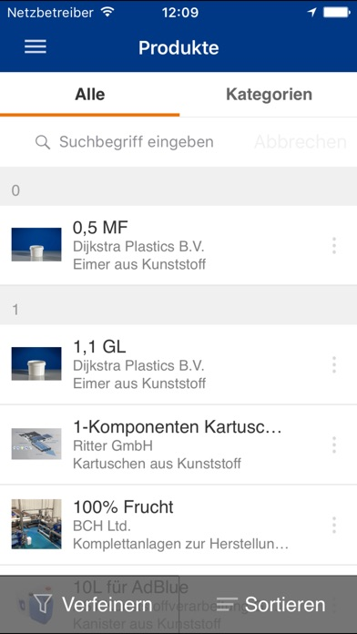 Screenshot von Interpack5