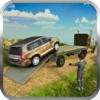 Faizan Ahmed - US Army Offroad Car Transport Truck- 4x4 SUV Drive  artwork