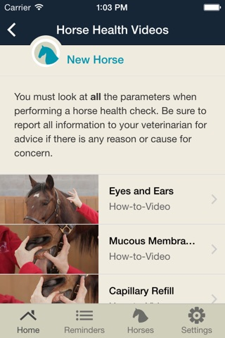 Horse Health Tracker screenshot 3