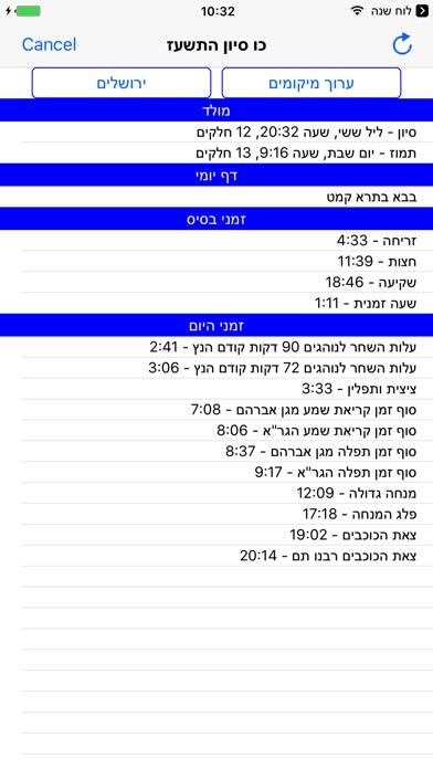 Esh Luach אש לוח שנה Screenshot 3