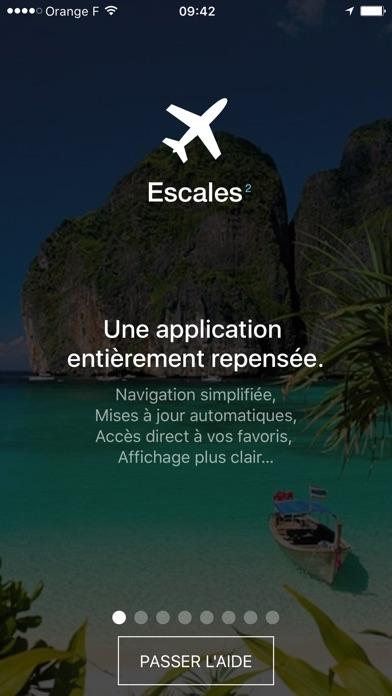 CE Lignes - EscalesCapture d'écran de 1