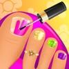 Summer Nail Spa Makeover Games