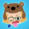 Betsie Bear: Stickers and Emoji for Students