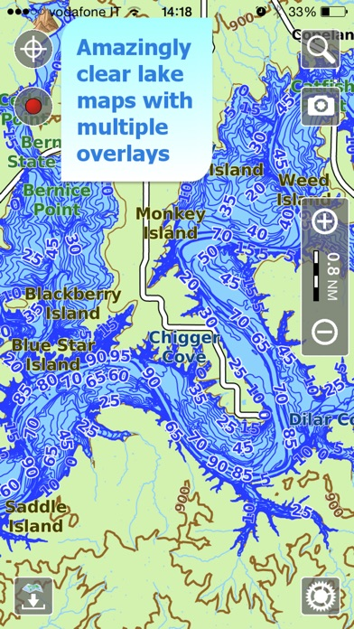 Aqua Map Missouri MO Lakes GPS Nautical Charts On The App Store - Missouri lakes map