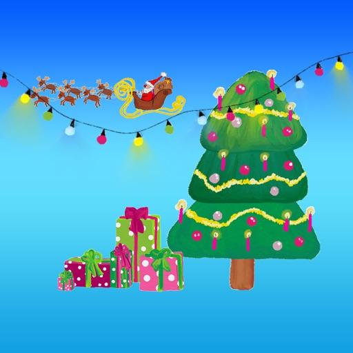 Стильные рождественские наклей