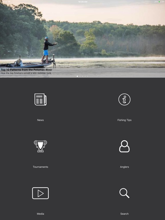 Flw tournament bass fishing on the app store for Fishing tournament app