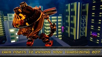 Future Robot Transform Train screenshot 4