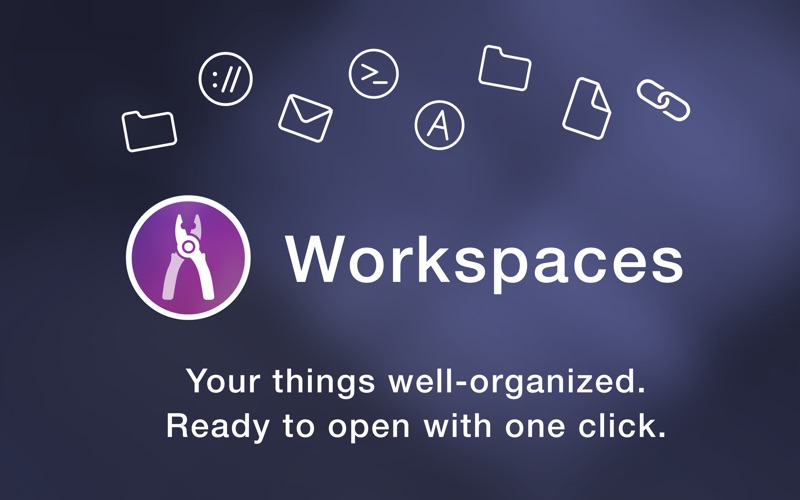 Workspaces Screenshots