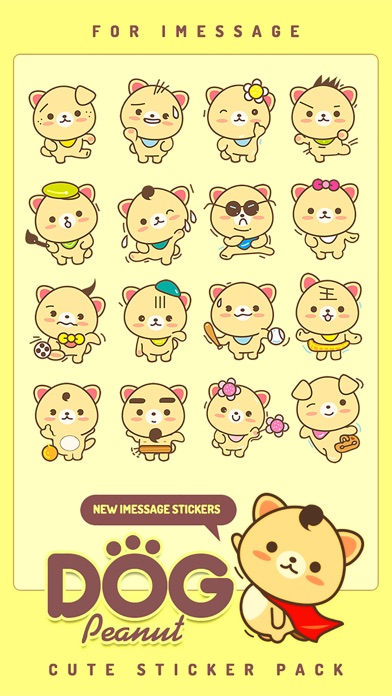 Screenshot of Peanut Dog StickerCute Emoji4