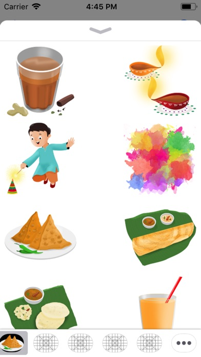 Indian Emojis And Sticker Pack review screenshots