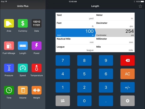 Units Plus Converter Screenshot