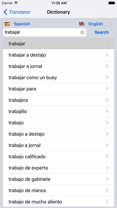 english to spanish dictionary app