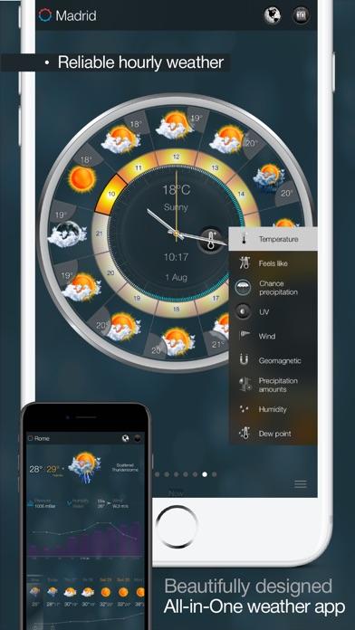 eWeather HD - Weather, Storm tracks & Tides Screenshots