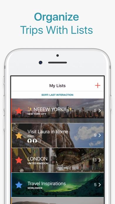 CityMaps2Go Pro Trip Planner Screenshots