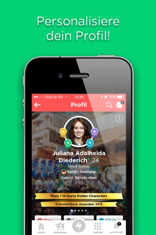 QuizUp™ screenshot 3
