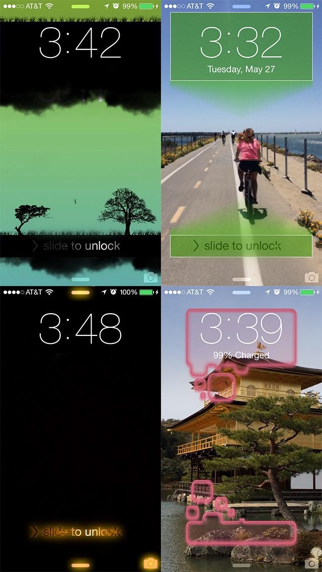 Slick - Индивидуальная настройка экрана блокировки Скриншоты5