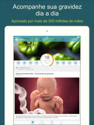 Pregnancy Tracker & Baby App screenshot 1