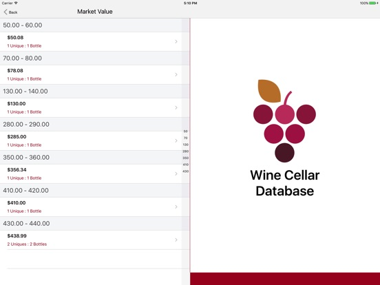 Wine Cellar Database Скриншоты11