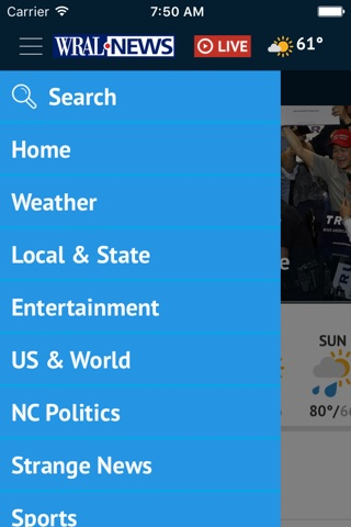 WRAL News Mobile screenshot 2