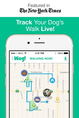 Wag! - Instant Dog Walkers screenshot 1