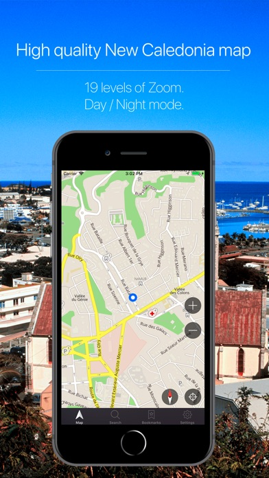 Screenshot for New Caledonia Navigation in Australia App Store