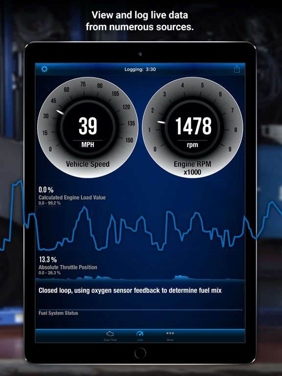 BlueDriver OBD2 Scan Tool Screenshots