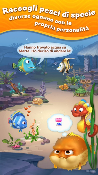Screenshot of Fishdom2
