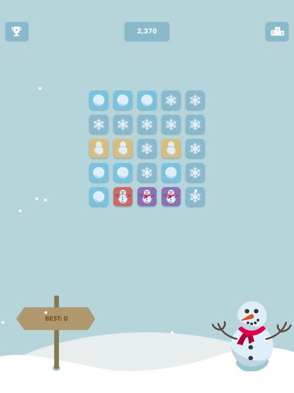 Слепи Снеговика! для iPad