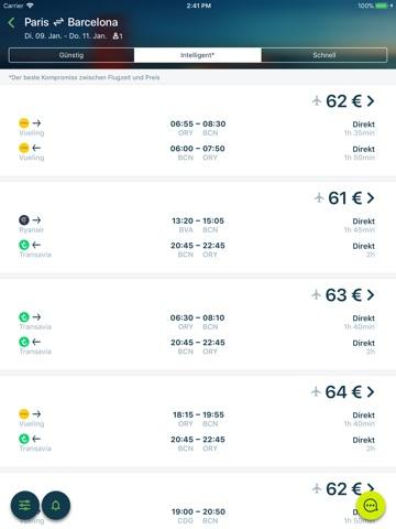 Liligo: Flights, Hotels & Cars screenshot 2