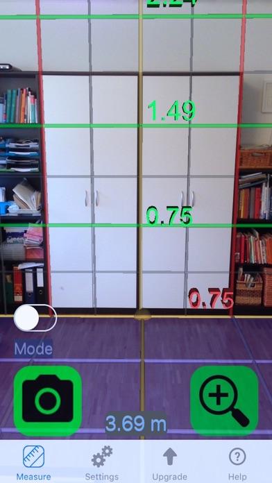 Screenshot von Messen mit Video Kamera 3D4