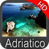 Adriatisches Meer HD Seekarten